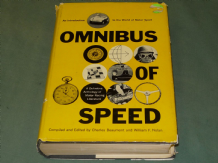 OMNIBUS OF SPEED - AN INTRODUCTION TO THE WORLD OF MOTOR SPORT (Nolan 1958)